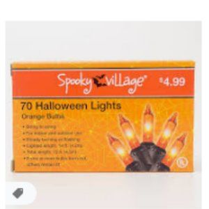 NWT # PACK BUNDLE HALLOWEEN Lights SPOOKY VILLAGE